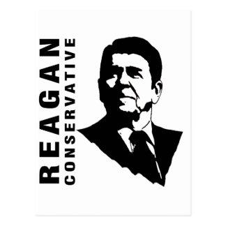 Reagan Conservative Postcard