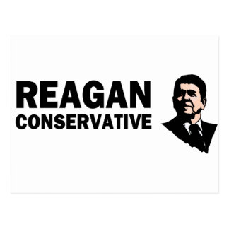 Reagan Conservative (Style 2) Postcard