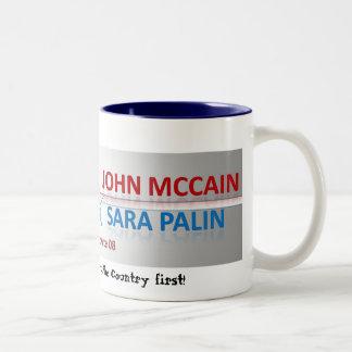 Reagan Democrats - Customized Two-Tone Coffee Mug