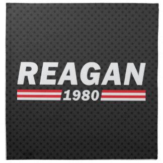 Reagan el an o 80 (Ronald Reagan) Servilleta