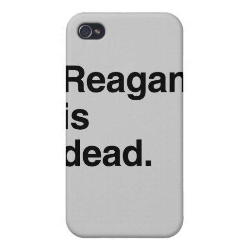 Reagan es dead.png iPhone 4 protectores