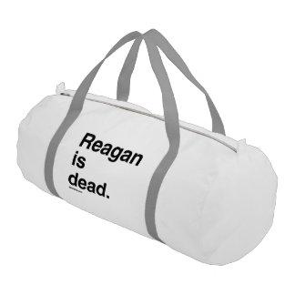 Reagan es muerto bolsa de deporte