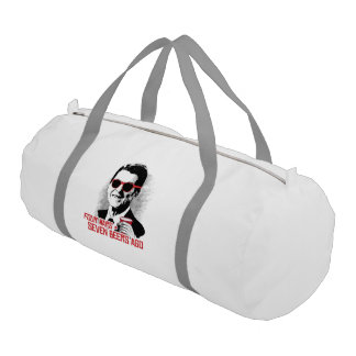 Reagan - Four Wars and Seven Beers Ago Gym Duffle Bag