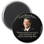 Reagan Government & Problems Magnets