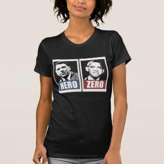 reagan hero obama zero tee shirt