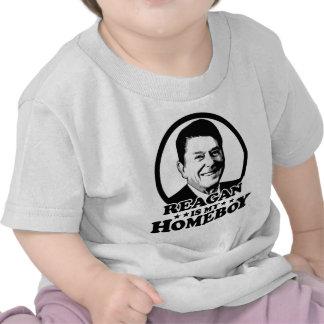 Reagan Is My Homeboy Tee Shirts