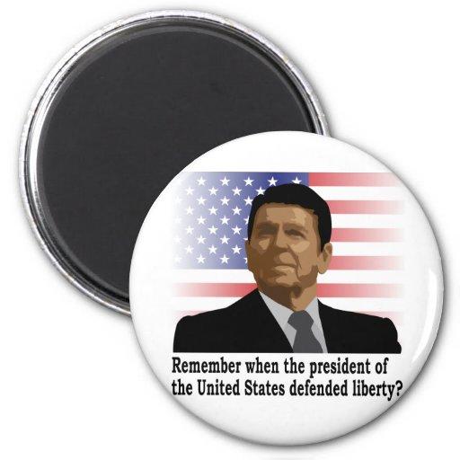Reagan Liberty magnets