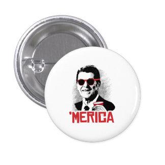 Reagan 'Merica Pin Redondo 2,5 Cm