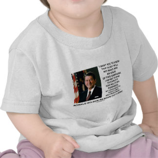 Reagan Not Make Age An Issue Campaign Youth Quote Shirt