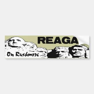Reagan On Rushmore Bumper Sticker