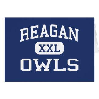 Reagan - Owls - High School - Big Lake Texas Greeting Card