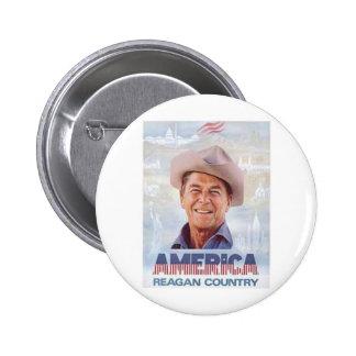 Reagan Pinback Button