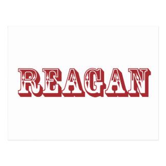 Reagan Postcard