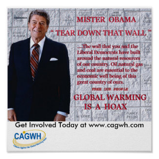 Reagan Poster. Poster