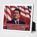 Reagan Private Sector Quote Plaques
