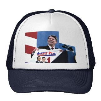 Reagan que apoya a Romney-Ryan Gorro