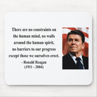Reagan Quote 7b Mouse Pad