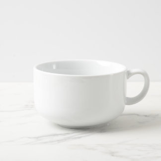 Reagan Quote - Every day is April Soup Bowl With Handle