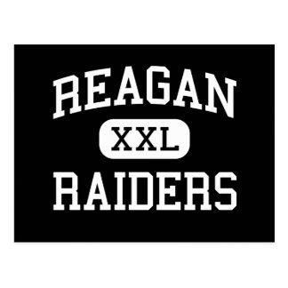 REAGAN - Raiders - HIGH - Winston Salem Postcard