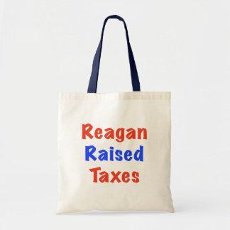 Reagan Raised Taxes Tote Bag