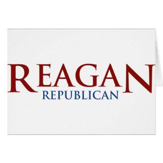 Reagan Republican Card