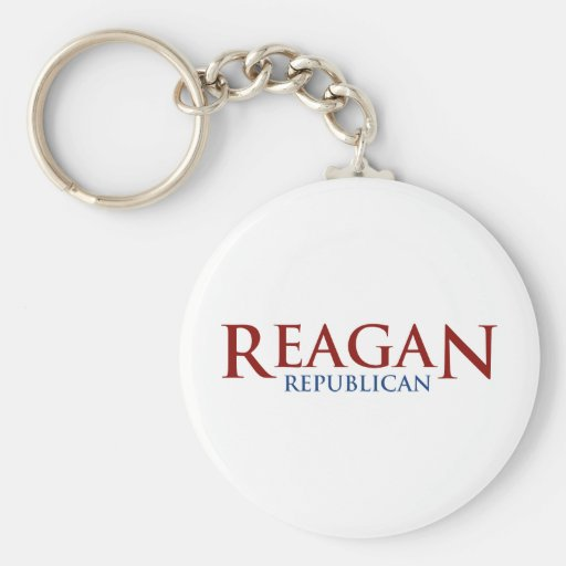 Reagan Republican Keychains
