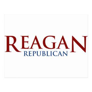 Reagan Republican Post Card