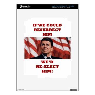REAGAN RESURRECTION iPad 3 DECALS