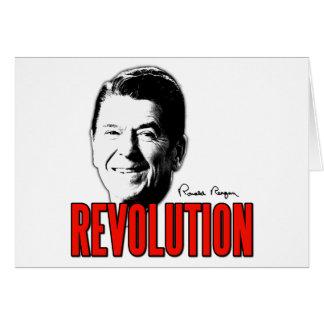 Reagan Revolution Card