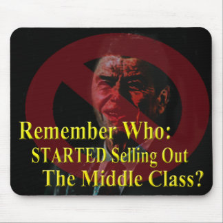 Reagan Started the Lies and Propaganda Mouse Pad