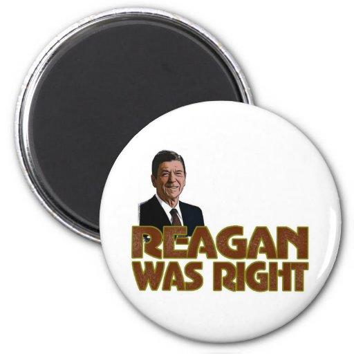 Reagan tenía razón imán de frigorífico