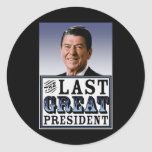 Reagan: The Last Great President Stickers