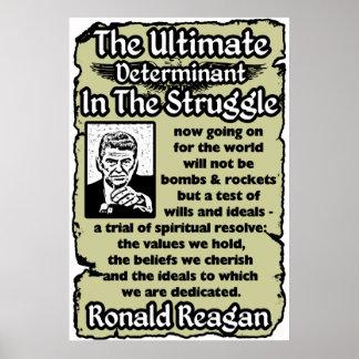 Reagan: The Ultimate Struggle Print