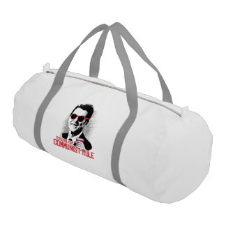 Reagan - Too Cool for Communist Rule Gym Duffle Bag