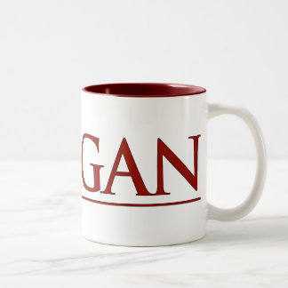 Reagan Two-Tone Coffee Mug