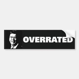 Reagan was overrated bumper stickers