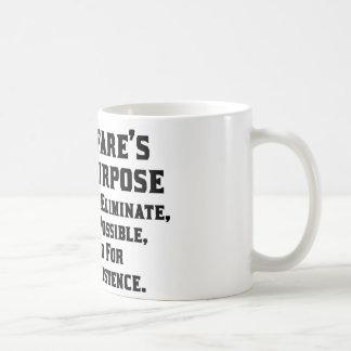 Reagan: Welfare's Purpose Classic White Coffee Mug