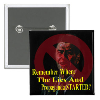 Reaganomics Sold Out America Pinback Buttons
