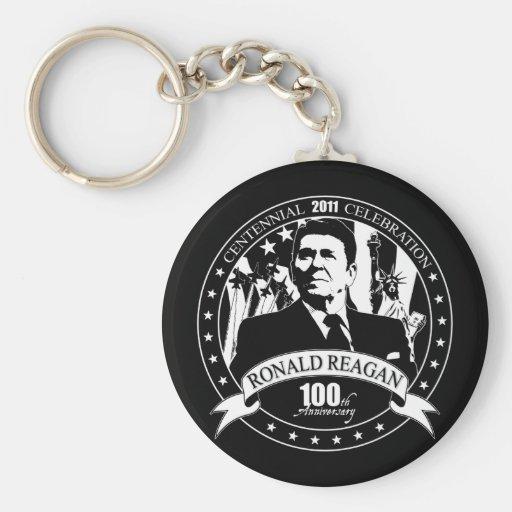 Reagan's 100th Anniversary Keychain