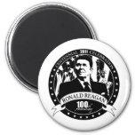 Reagan's 100th Anniversary Refrigerator Magnet