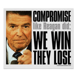 Reagan's Compromise Poster