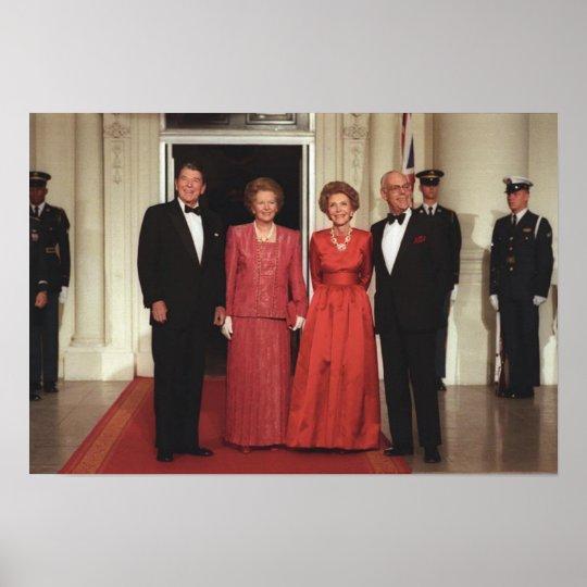 Reagans & Thatchers Poster