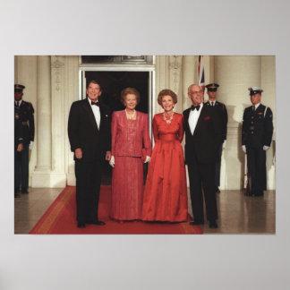 Reagans y Thatchers Póster