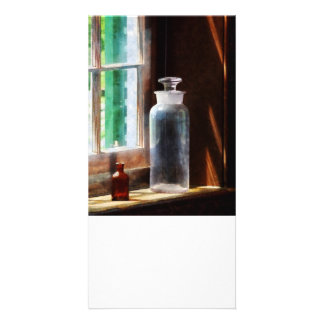 Reagent Bottle and Small Brown Bottle Picture Card