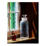 Reagent Bottle and Small Brown Bottle Postcard