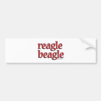reaglebeagle bumper sticker