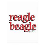 reaglebeagle tarjeta postal