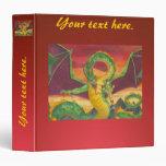 """Reajuste del dragón de Shivan Carpeta 1 1/2"""""""