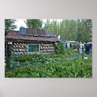 Reakoff cabin, Wiseman, Alaska Print