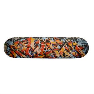 Real Abstract Graffiti Art Skate Board Decks